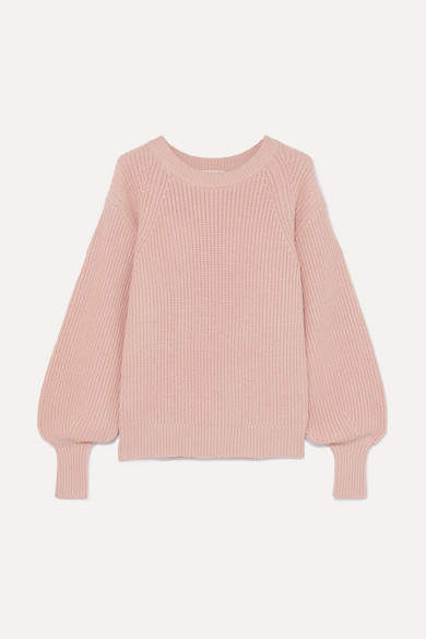 Michael Michael Kors MICHAEL Michael Kors - Ribbed Knitted Sweater - Antique rose