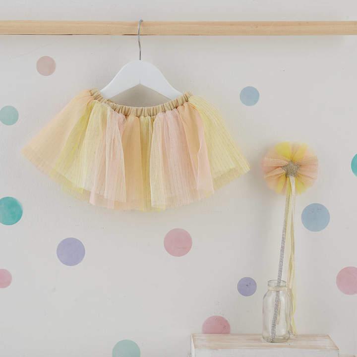 Albetta Rainbow Tutu And Wand Set