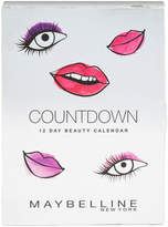 Maybelline Countdown Advent Calendar Christmas Gift (Worth £75.38)