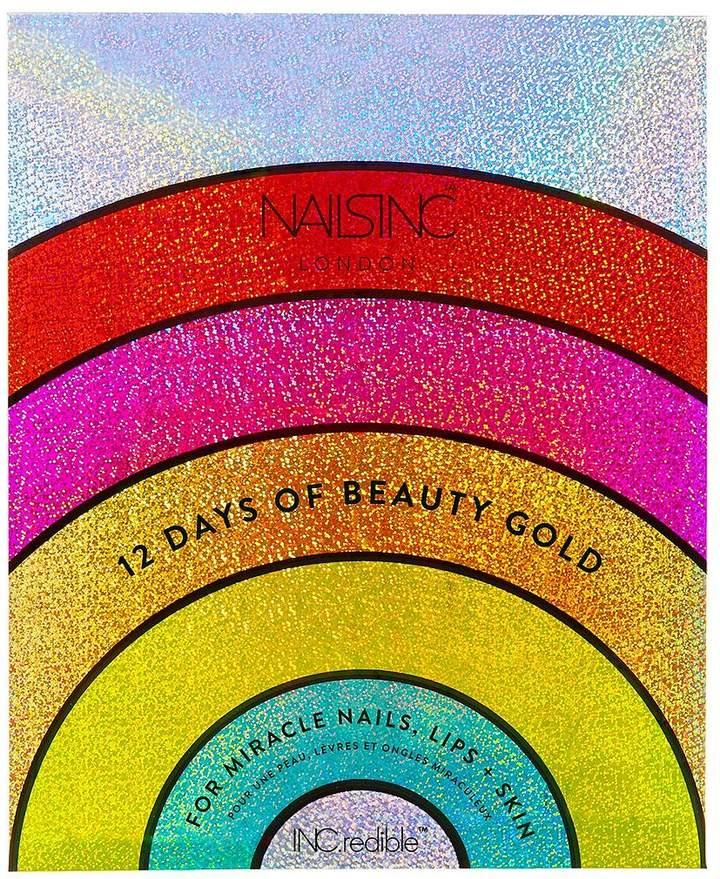 Nails Inc Nails Inc 12 Days Of Beauty Gold Advent Calendar