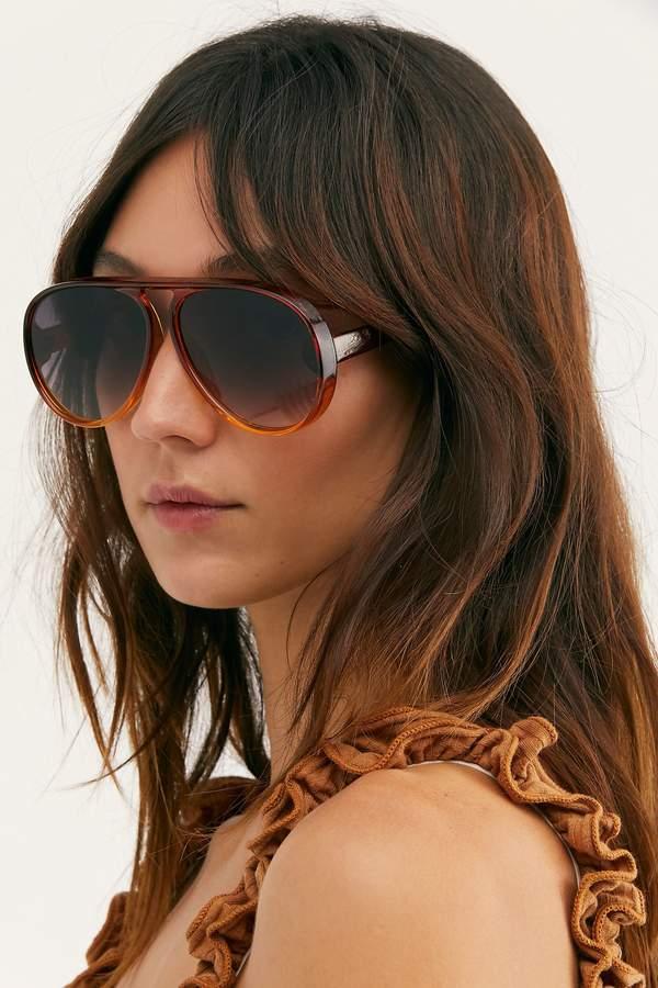 Good Times Oversized Aviator Sunglasses