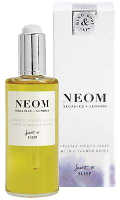 Neom Organics London Perfect Night's Sleep Bath & Shower Drops, 100ml