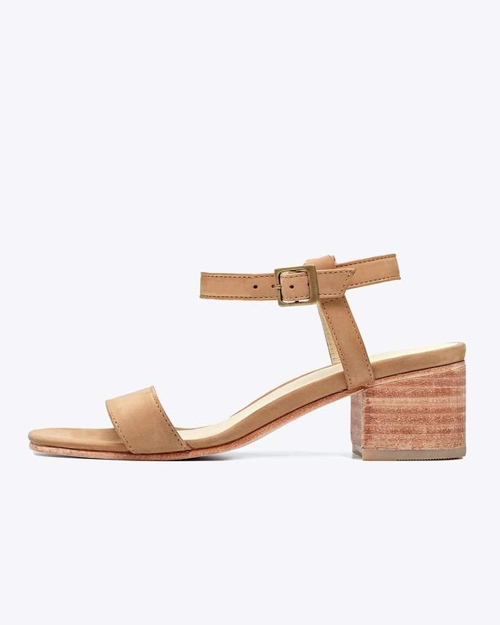 Lucia Block Heel Sandal Sand
