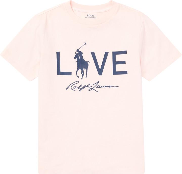Pink Pony Live Love Tee