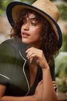 Brixton Hampton Colorblock Straw Panama Hat