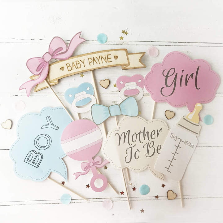 Postbox Party Baby Shower Photo Booth Props