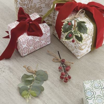 Greenery Gift Ties - Assorted Set of 3