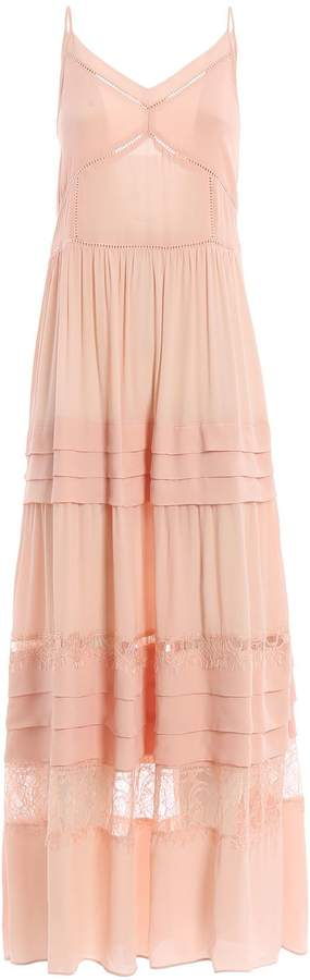 Twinset Twin Set Boho Maxi Dress