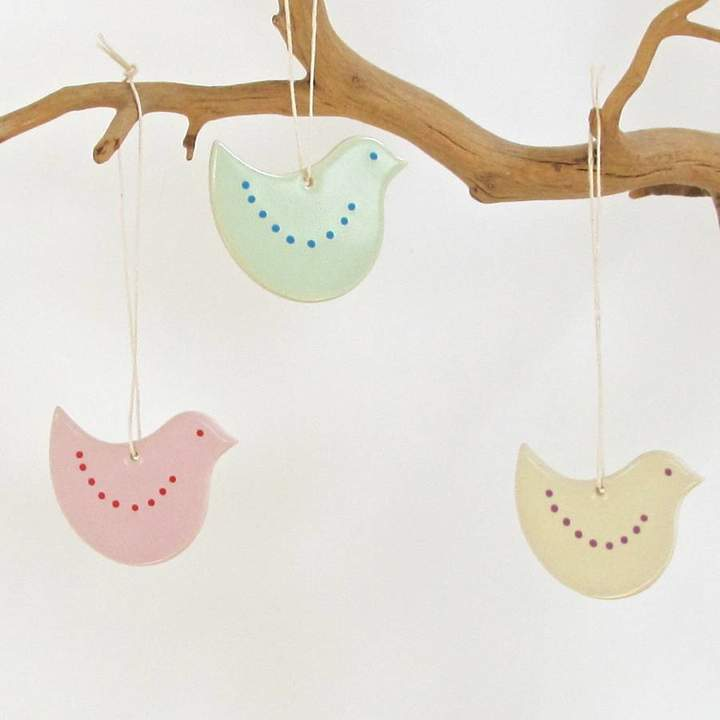 Chapel Cards Ceramic Hanging Chick Decoration