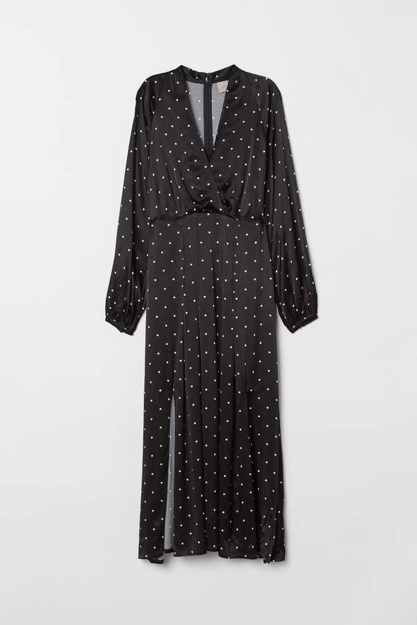 H&M - Calf-length Dress - Black