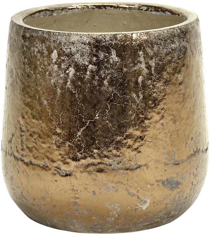 Serax - Gold Glazed Pot - Round