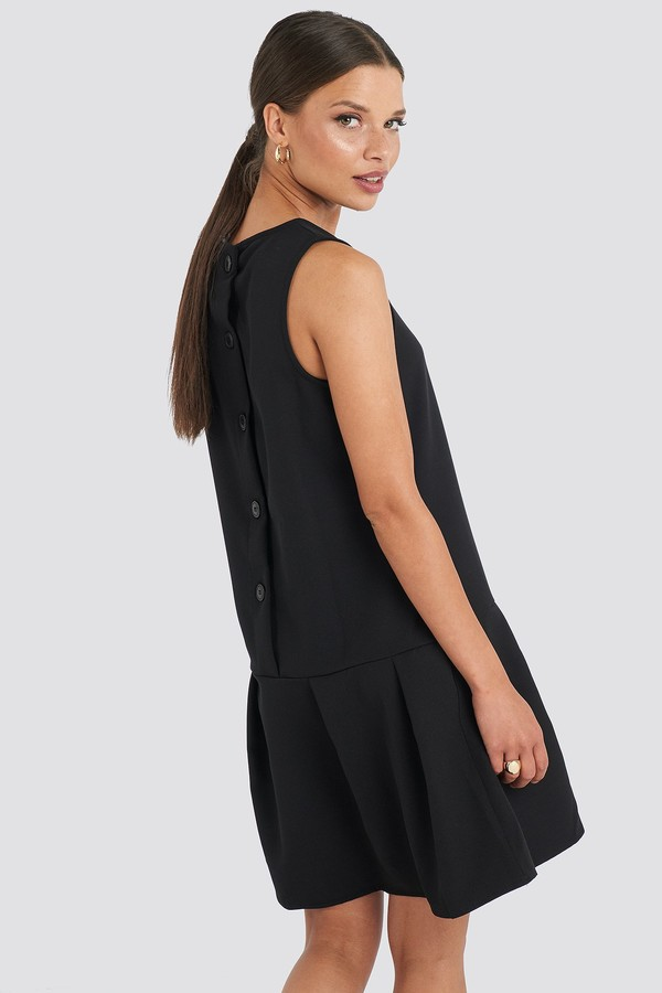 Sleeveless Flywheel Mini Dress