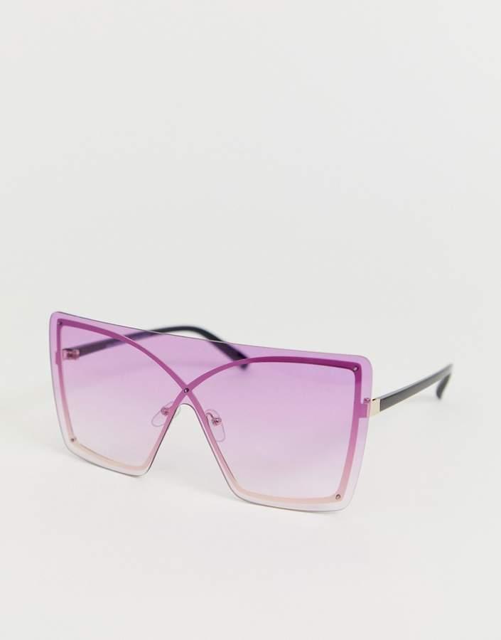 7x SVNX transparent visor sunglasses