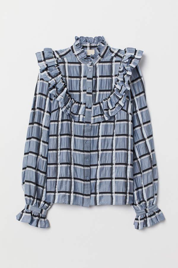 Lyocell-blend blouse