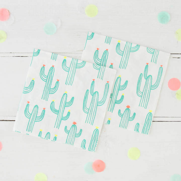 Postbox Party Cactus Party Napkins