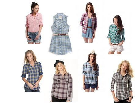 BDG, Forever 21, Roxy, GUESS, Urban Outfitters