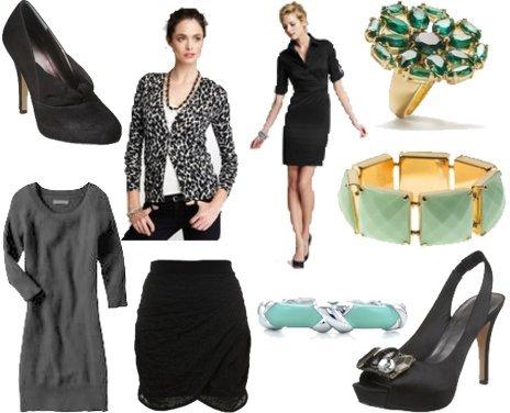 Tiffany & Co., Topshop, Kate Spade, Nine West