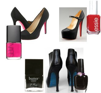 NARS, Ulta, Essie, Butter London, Christian Louboutin