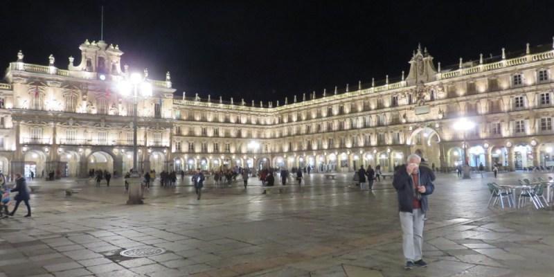 西班牙薩拉曼卡最大主廣場與古老大學