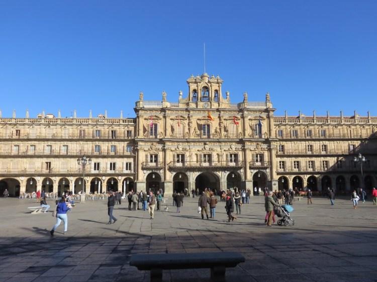 西班牙明信片郵資與寄送,薩拉曼卡漫步閒談