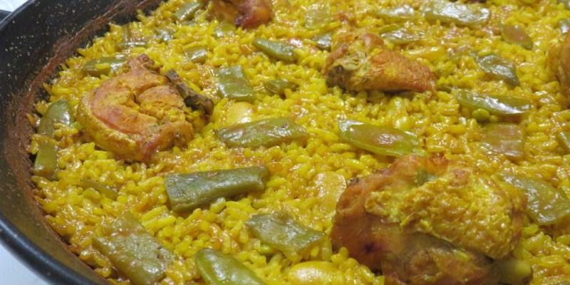 瓦倫西亞美食 La Riua嚐西班牙傳統燉飯之最 兔肉海鮮