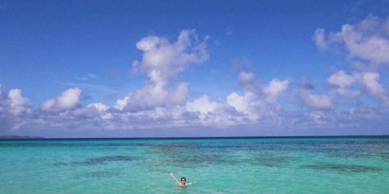 宮古島景點砂山海灘的美 外拍游泳跳躍都適合