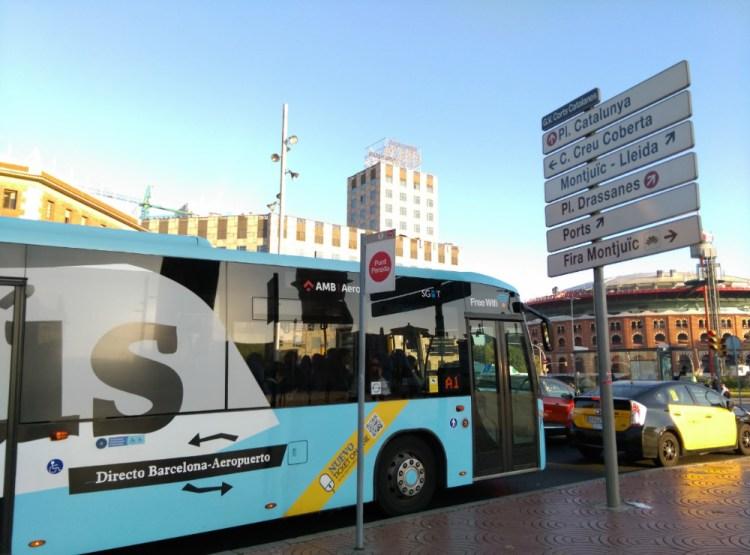 巴塞隆納機場到市區交通機場搭車總整理含T10(2020新規)