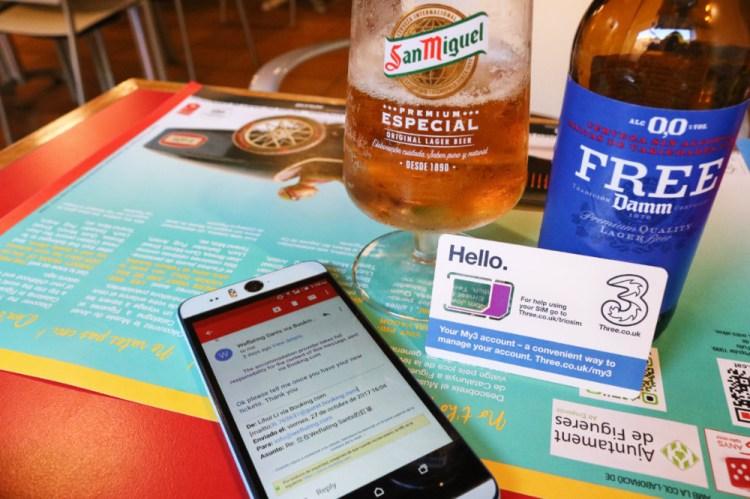 西班牙網卡歐洲跨國上網 SIM卡聯繫距離無國界