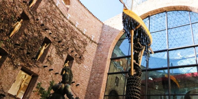 西班牙費格拉斯達利戲劇博物館 我所見的一代狂人達利