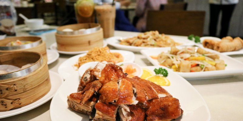 《台中》銅鑼灣文記港式餐廳 脆皮雞港式點心熱炒料多實在