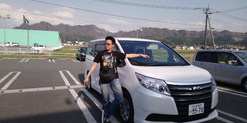 《日本租車》休旅車開起來如何 七人座行李箱怎麼放