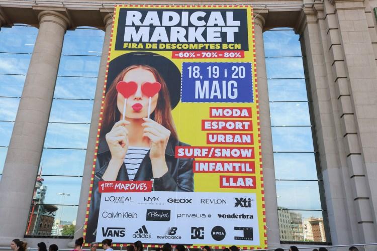 西班牙巴塞隆納瘋狂購物節Radical Market年度特賣