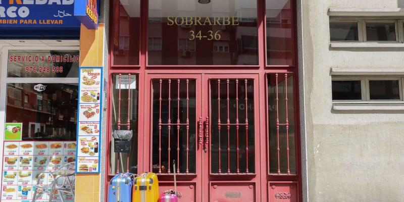 薩拉戈薩旅館Hostal B&B Siesta附早餐廚房交通方便治安好