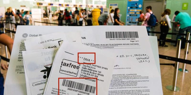 歐洲退稅西班牙巴塞隆納機場怎麼退稅?加碼市區退稅流程