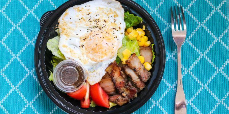 內湖早餐OH YA BBQ炭烤吐司最強美食,碳烤土司江南街之冠
