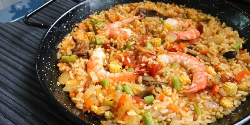 食譜西班牙料理 巴塞隆納飯燉飯 海鮮番茄一口鍋就搞定