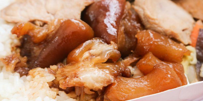 台北美味豬腳 木新市場巧味豬腳 騎再遠都願意