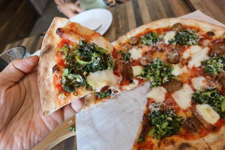 花蓮美食秀綠披薩 義式料理用心滋味 推櫻桃鴨胸與白松露