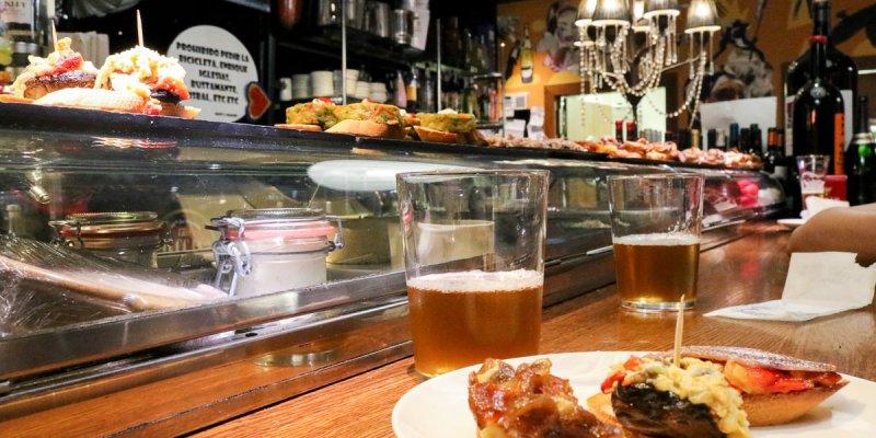 薩拉戈薩美食活動Juepinchos續攤酒吧之夜西班牙僅此一區