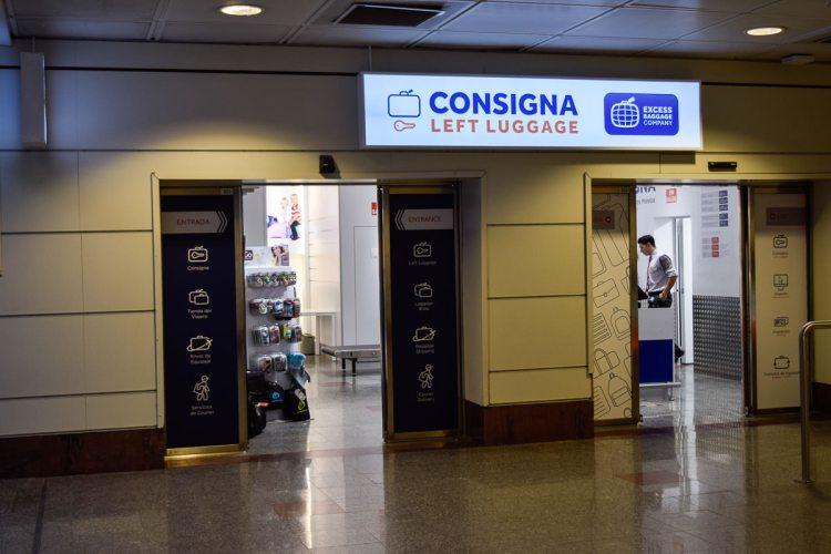 馬德里機場 行李寄放置物實用指南