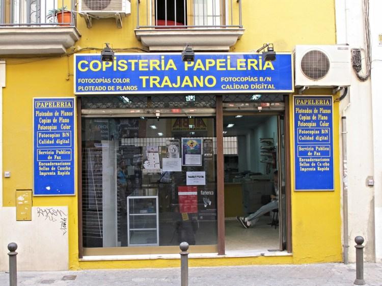 西班牙哪裡可以列印?教你找影印店