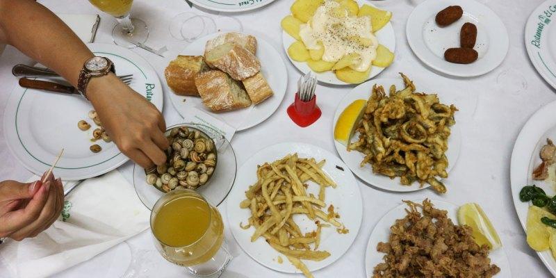 巴塞隆納美食El Cruce。蝸牛湯必點,高CP氣氛好的Tapas!