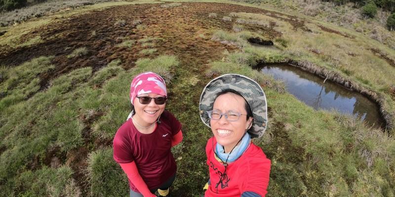 宜蘭加羅湖 加太縱走兩日露營太平山 倒木跨到飽會吃鞋的泥沼(下