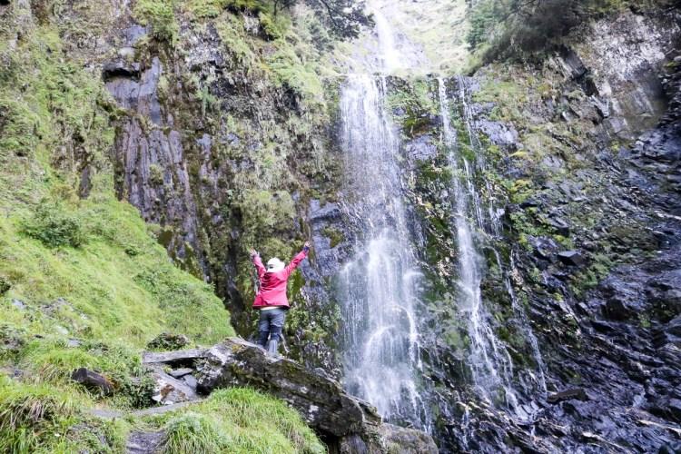 奇萊南華三天兩夜 奇萊南峰能高北峰 能高瀑布根本能量景點