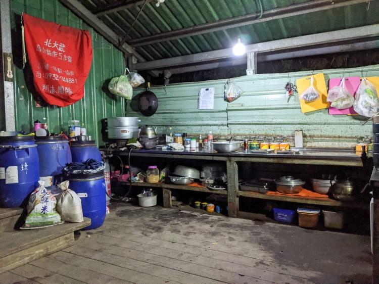 檜谷山莊北大武交通檜谷訂餐心得 高山協作工作阿志工團伙食好吃又親切