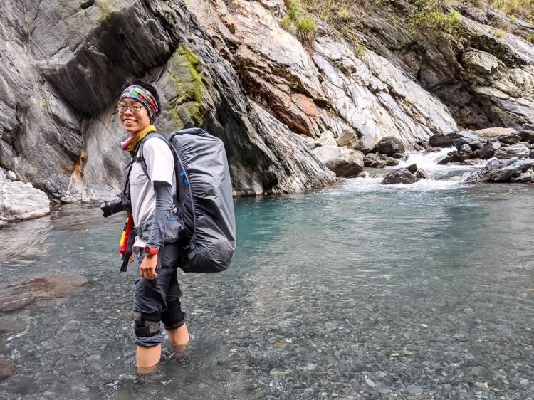 雲海溫泉野營兩天爬到飽 南投秘境溯溪攀岩泡湯一次滿足