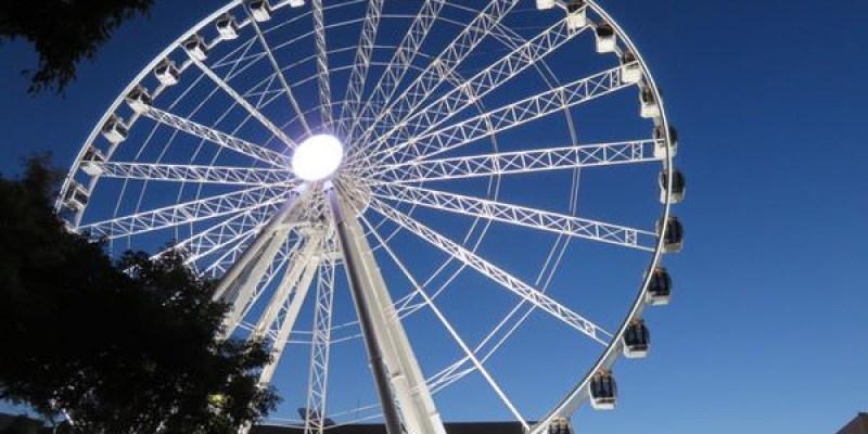 《澳洲》布里斯本 Brisbane City tour part2 光速摩天輪 值回票價