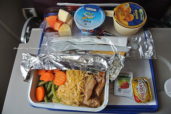 奇幻印度 馬來西亞航空 國際線從印度孟買回台灣 飛機餐