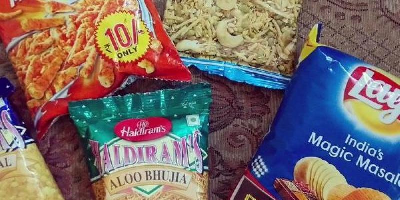 印度。Haldiram & Lays 這才是可以帶回台灣的正統印度零食
