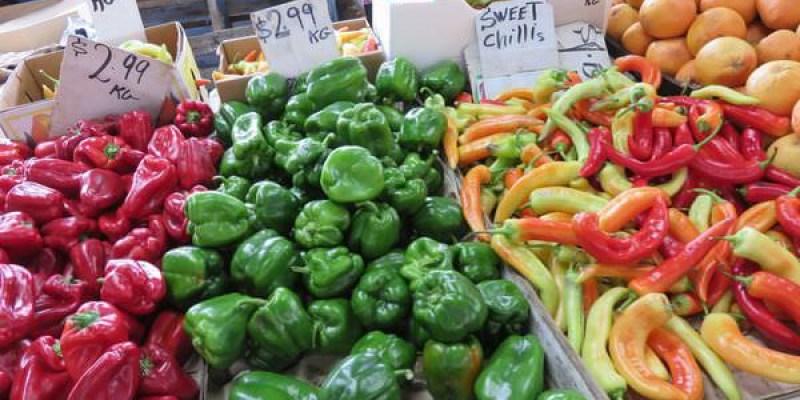 《澳洲》墨爾本Post Office & Queen Victoria Market 生鮮水果好康都在這